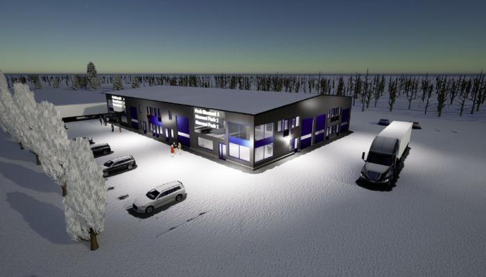 Marmoritie 9, Rusko, Oulu, valmistuminen 6/2022